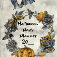 Cover photo from this Halloween Party Plan - A free party planner for your next Halloween party.