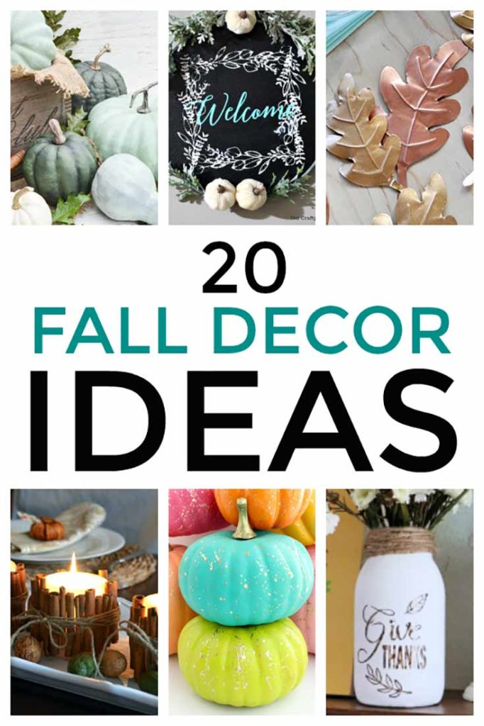 20 Fall Decor Ideas You Can Make For Your Home
