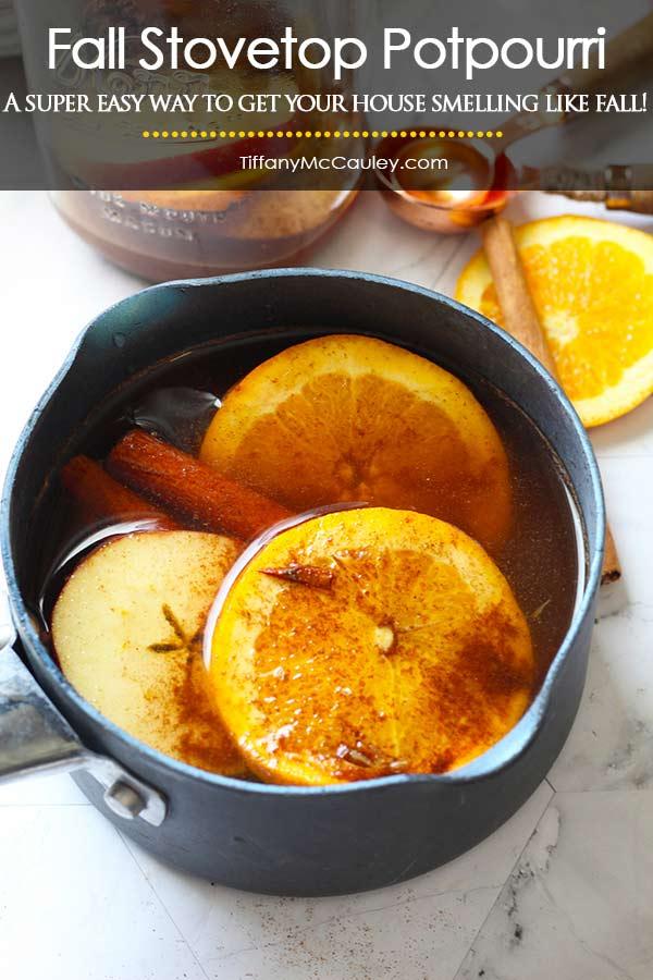 Fall Stovetop Potpourri Recipe