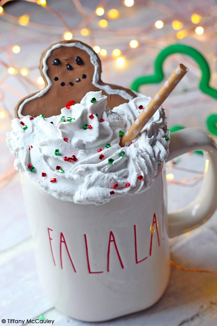 Gingerbread Mug Toppers
